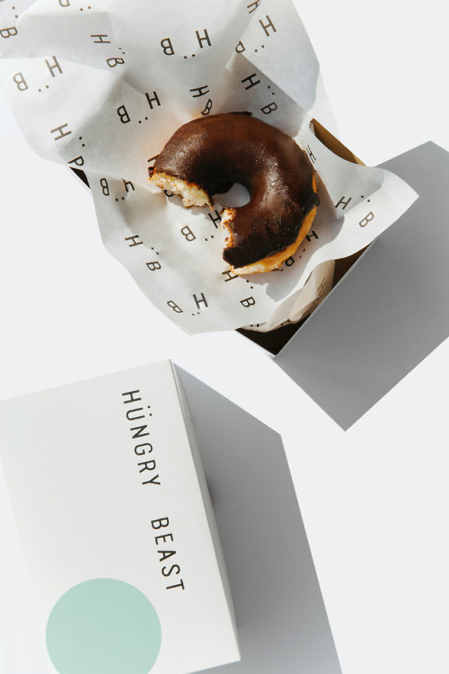 """tumblr_p3ftrmUkQE1r5vojso7_r1_500 Brand Identity for Hungry Beast by Savvy Studio""""Hungry Beast is... Design"""