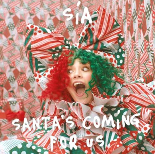 Sia - Santa's Coming For Us Artwork