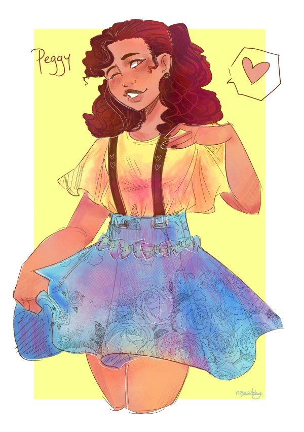 AND PEGGY For my 80s Hamilton au aaa Angelica Howdy