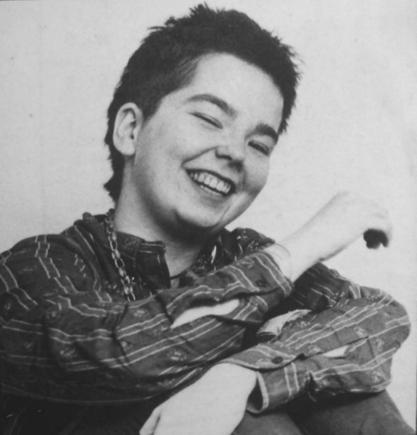 Rare photos of Björk as a teenager in the early 1980s as…