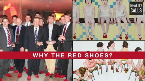 Image result for podesta red shoes