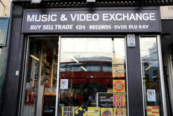 Image result for music and video exchange berwick street