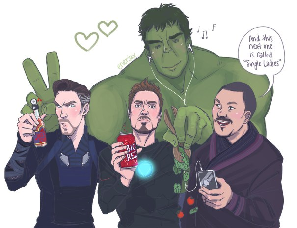enerjax all about these science bros marvel