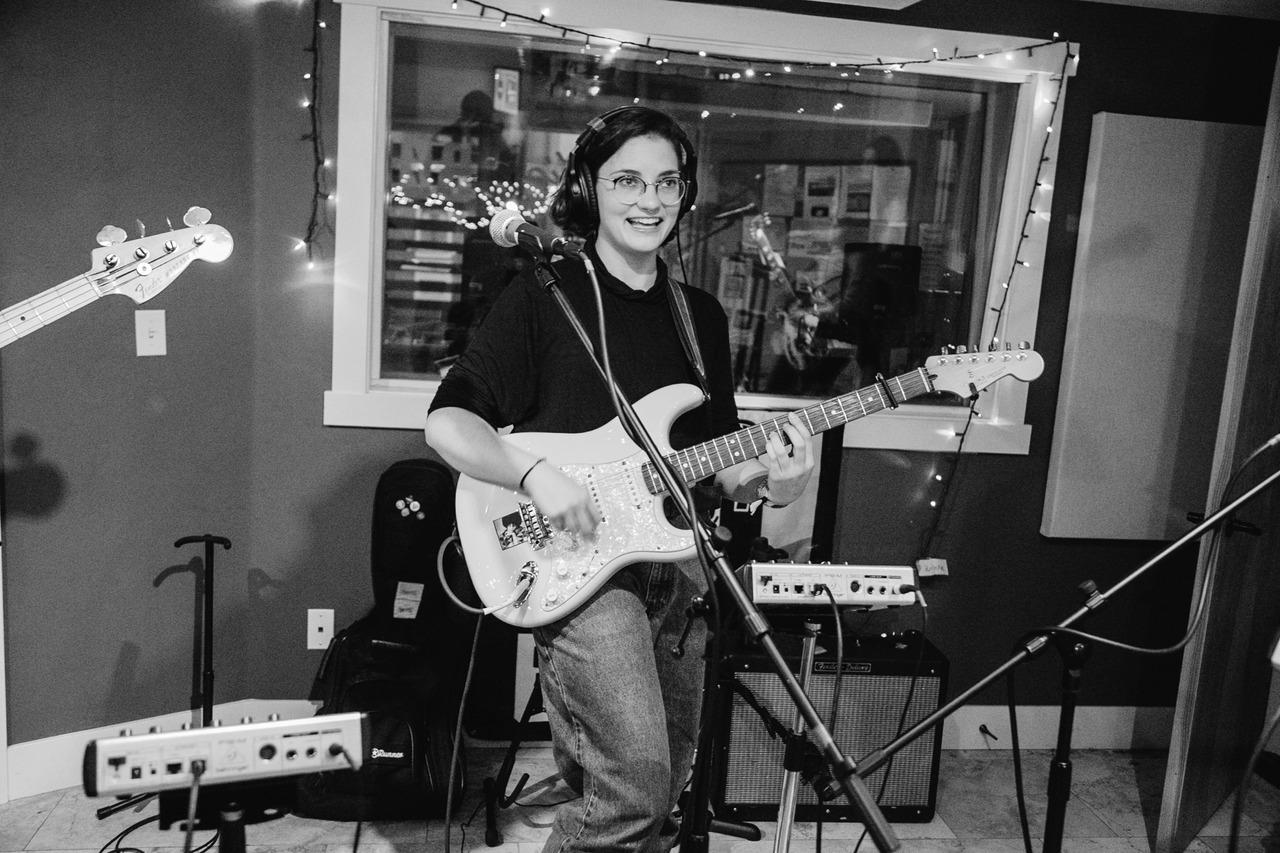 Day 4: Rosie Tucker, live in studio at KRBX. Girl Power! AS