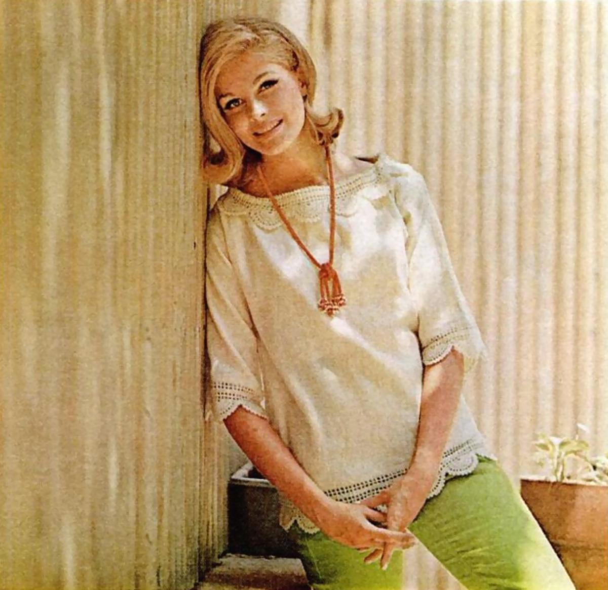 Candice Bergen 1970 Vintage Stuff Crochet By Faye Lucine In Diagrams