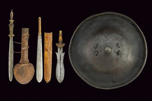 victoriansword: African Swords and Shield – Antiques