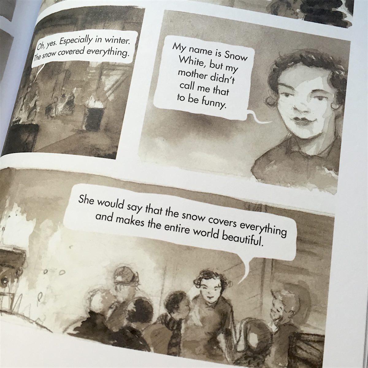 Image result for snow white the graphic novel