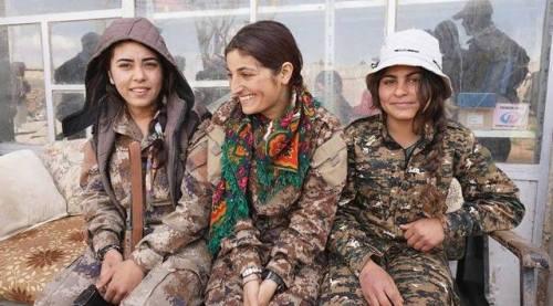kurdish female fighters | Tumblr