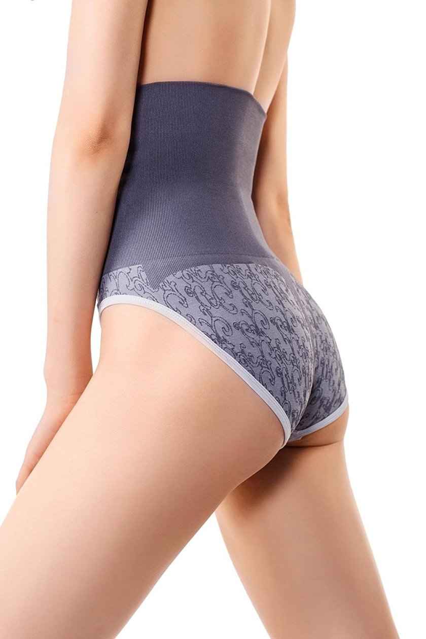 80e94e002f914 Womens Shapewear High Cut Shaping Control Briefs Rear And Tummy Body Shaper.  MDshe s womens compression underwear offers 360 degrees of firm compression  and ...