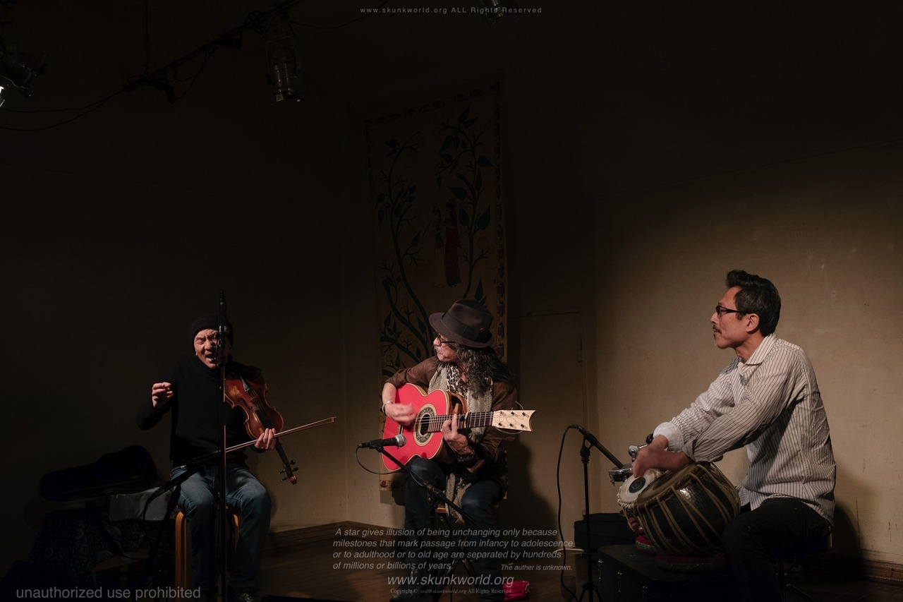 MASARA#高木潤一 TAKAGI, Junichihttp://takagi.fc2web.com/#太田惠資 OHTA, Keisuke http://violin-ohta.cside.com/#吉見征樹 YOSHIMI, Masakihttp://sound.jp/tablin/#violinist #guitarist #tabla #masara