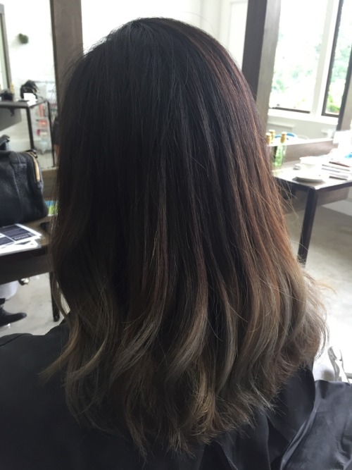 Silver Ombre Hair Tumblr