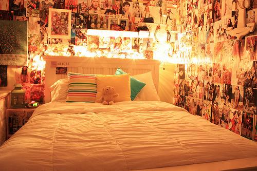 girls room on Tumblr on Teenager:_L_Breseofm= Bedroom Ideas  id=76793