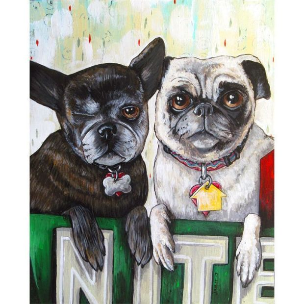 Just thought I'd share my latest Pet Project commission, painted for @niteowlchris