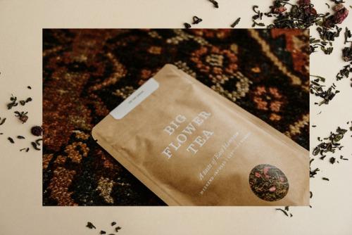 "tumblr_ozea1xrccg1r5vojso4_500 Packaging for Big Flower Tea byMaude Paquette-Boulva""Big Flower... Design"