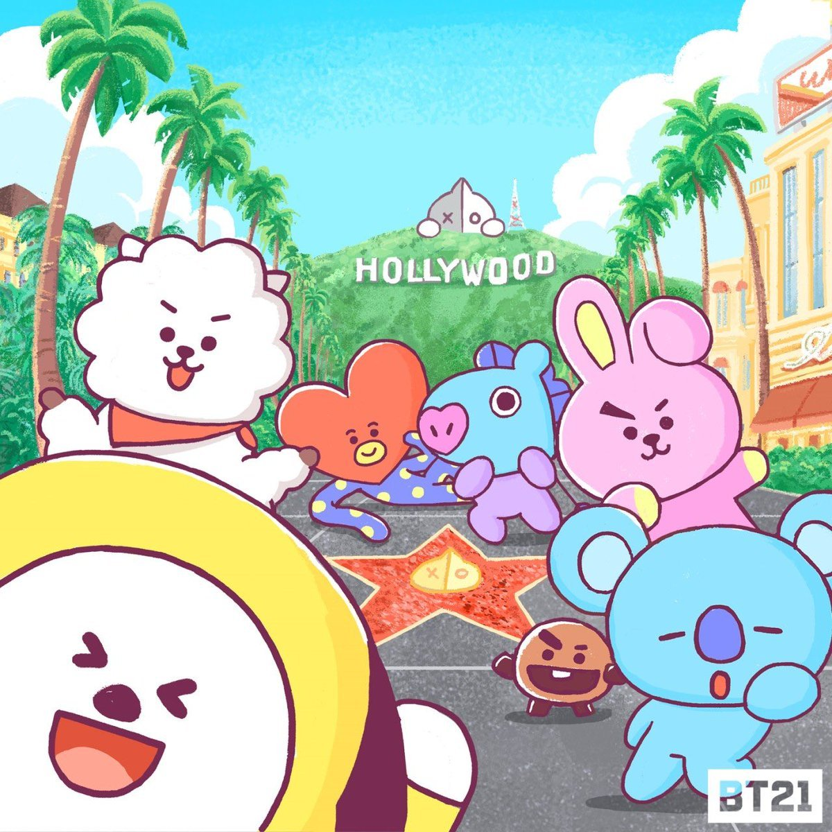 e9497188 BT21 Pop-up Store in Hollywood Location: 6922 … – BTS