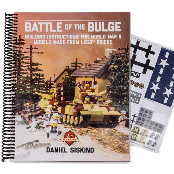 Battle of the Bulge Instruction Book #brickman… – Lego