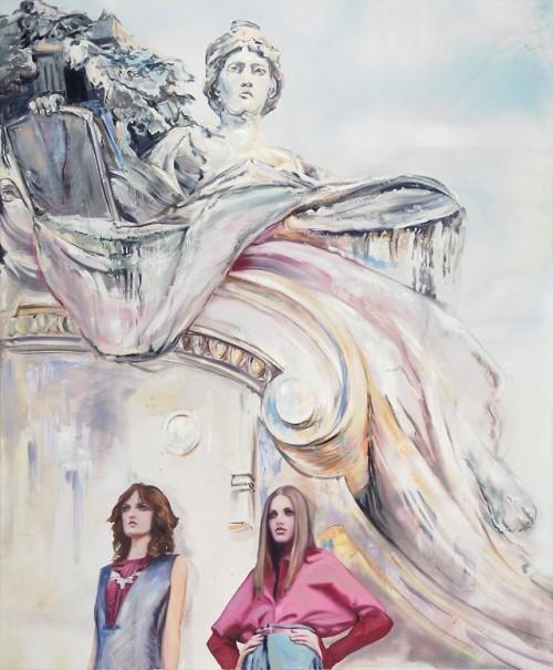tumblr_p8xqy5ziKe1qfc4xho1_500 Paulina Olowska, Neo-Renaissance (after Jacqueline Sobiszewski)... Contemporary