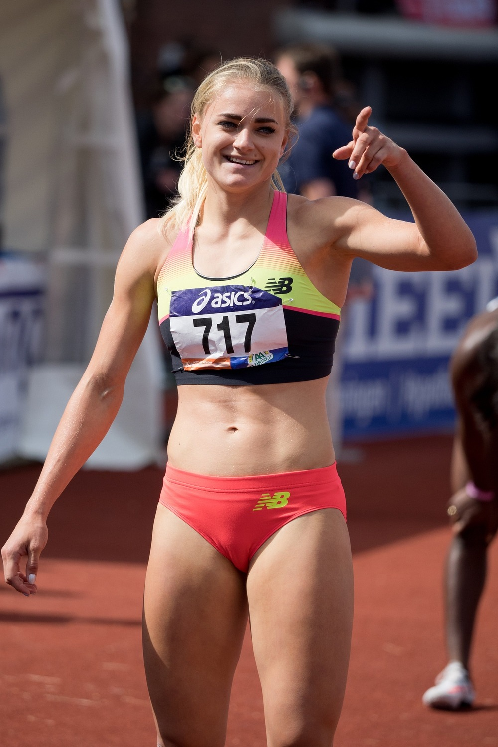 Lisanne De Witte 2015 Dutch Championships Athletics