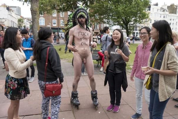 Erections in public tubes xxx naked men 3