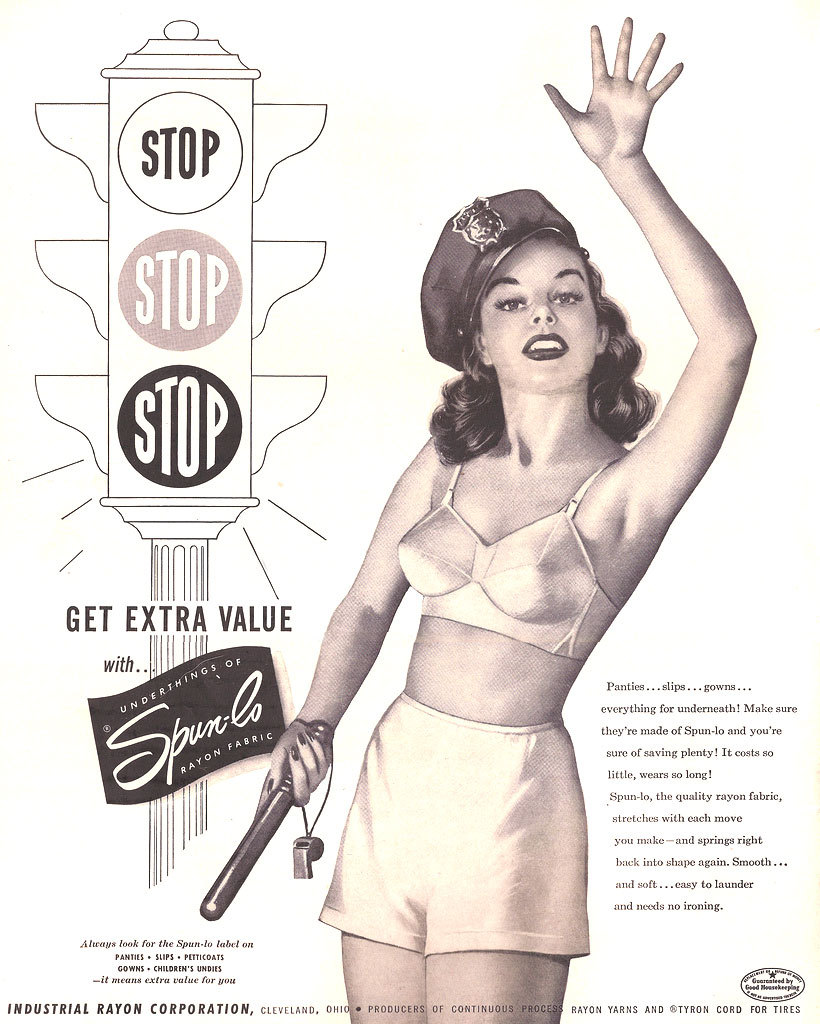 Spun-lo/Industrial Rayon Corporation - 1950