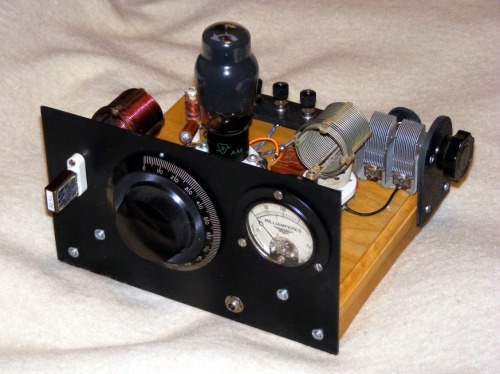 Glowbugs Radio 6l6g Qrp Transmitter By W7oil