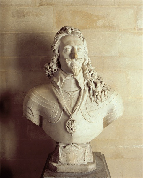 """mesbeauxarts: """"François Dieussart. Bust of Charles I. 1636. Marble. Arundel Castle. Arundel, West Sussex, UK. """""""