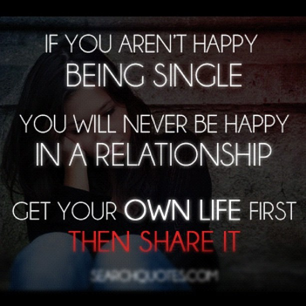 Maira Alejandra      unhappy  relationship  being  single  quotes  own     unhappy  relationship  being  single  quotes  own  life  share