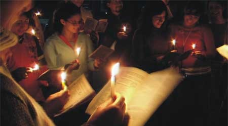 Resultado de imagen para posada navideña velas