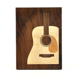 Guitar Cutting Board