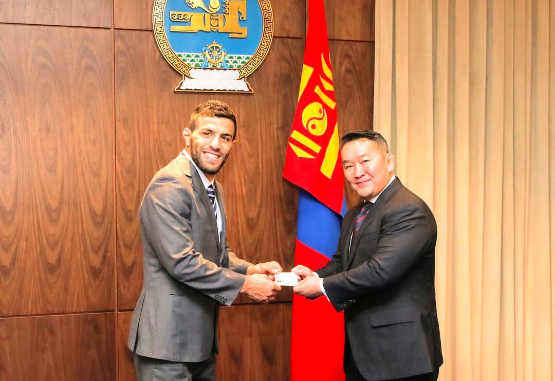 Image result for saeid mollaei mongolia