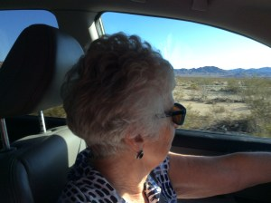 Ruth driving