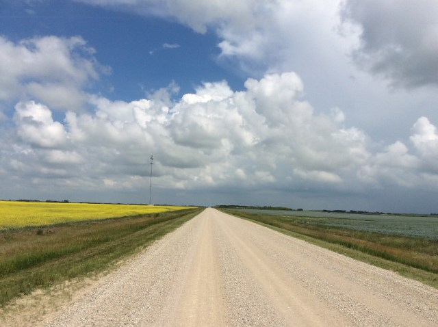 A Saskatchewan road
