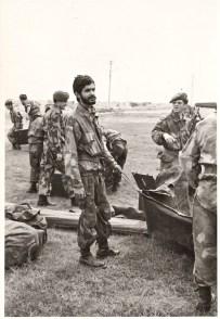 1974. S.Ten Stoppelli ad esercitazione di tiro a Ravenna