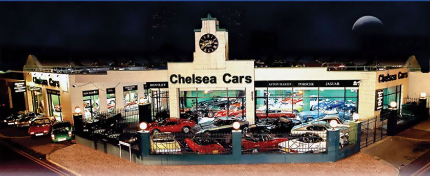 Photo Chelsea Cars London Showroom