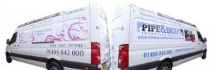Highspec's fleet of installation vans