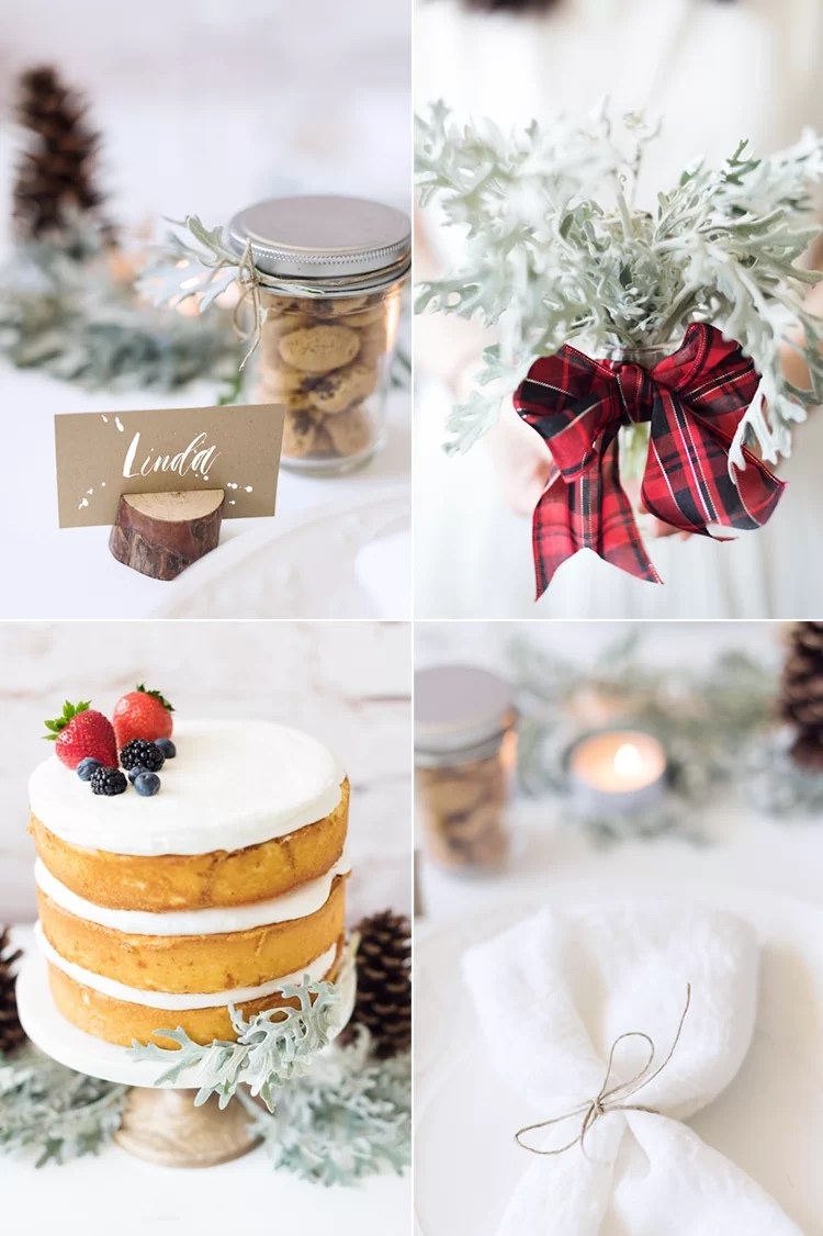 November Wedding Favors