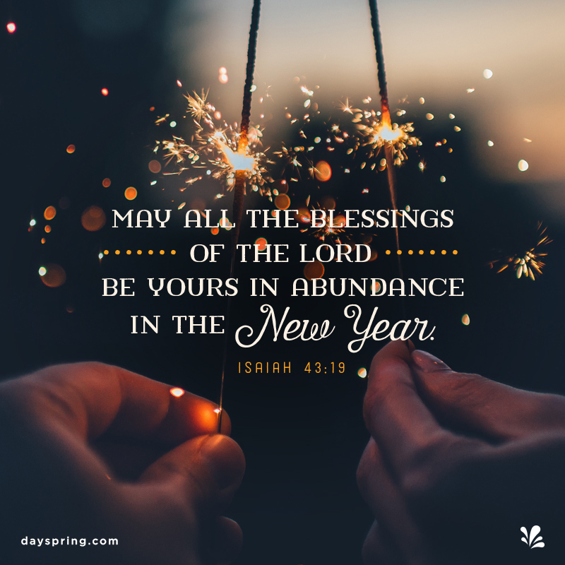 New Year Blessings Ecards Dayspring