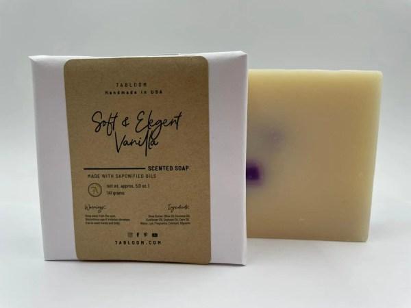 7 Abloom Soft Elegant Vanilla Bath Soap