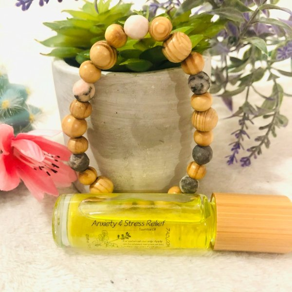 Anxiety and Stress Reliever Essential Oil Rollers