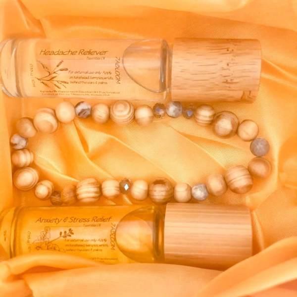 Bracelet Essential Oil Diffuser Set
