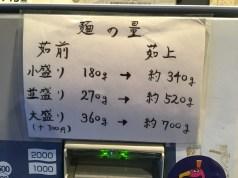大盛は+100円
