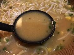 バターの味が染みたスープ