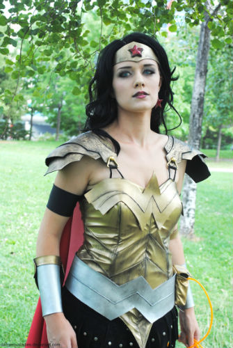Donna Troy as Wonder Woman
