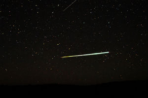 Catch a shooting star..