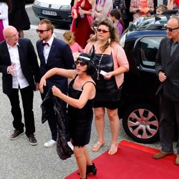 Une parodie de Cannes à l'espace Job pour un festival de court-métrages. 01 /06/ 18