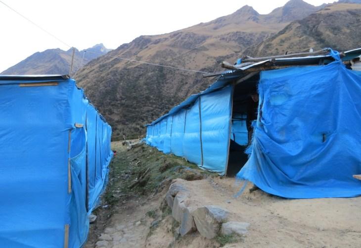 Acampamento Soraypampa - Trilha Salkantay - Peru