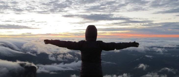 Monte Roraima - Nascer do sol no mirante do Quati