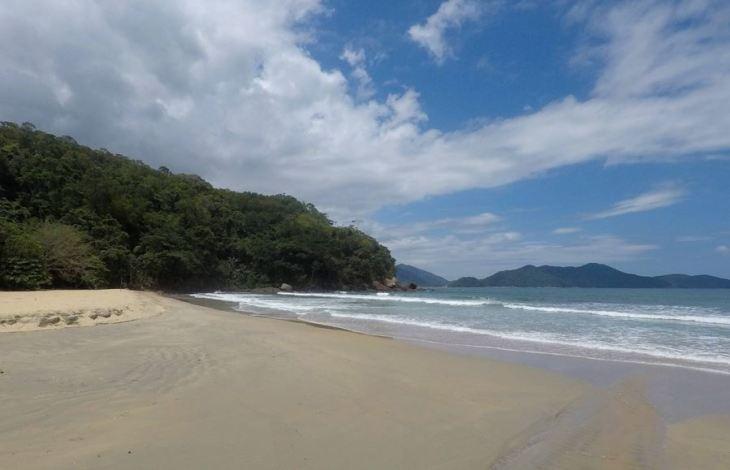 Praia Brava da Fortaleza - Ubatuba - SP - 7 Cantos do Mundo