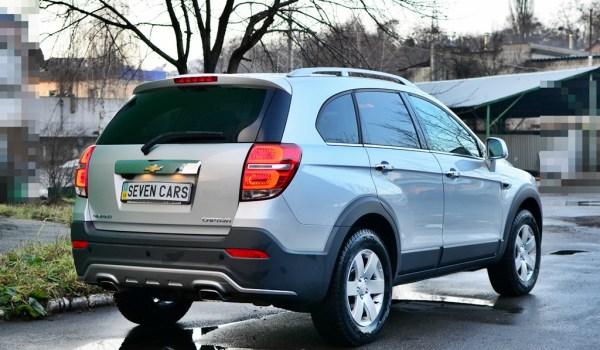 Chevrolet Captiva, Auto, Diesel, 2017 - 1