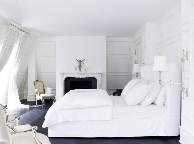 Clean White Bedroom Idea For Modern House - 2020 Ideas